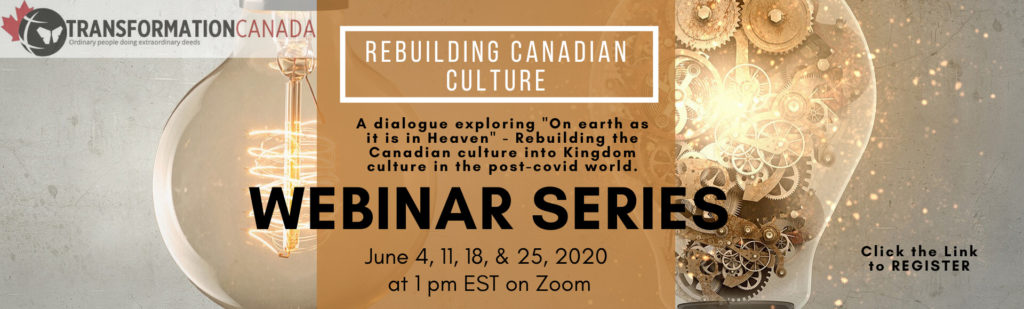 Rebuilding Canadian Culture - Transformation Canada